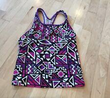 Girls Speedo Swimsuit Top 14 Black Purple Pink White