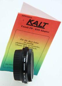Kalt Canon FD lens -EOS body adapter  390236