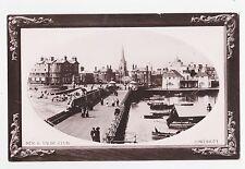Rppc,Lowestoft,U.K.Pier & Yacht Club,Suffolk,Picture Frame Border,Used,1910