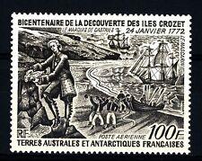 TAAF - PA - 1972 - 200° della scoperta dell'Isola Crozet