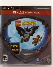 LEGO Batman COMBO PACK (PS3 Video Game) plus Blue Ray Movie FREE US SHIPPING