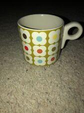 Orla Kiely Green FLOWERS Coffee Tea Mug