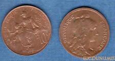 III République, 1871-1940 – 10 Centimes Daniel-Dupuis 1916 SUP +++