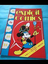 EXPLOIT COMICS nr. 51 del 1991 (cover TOPOLINO)