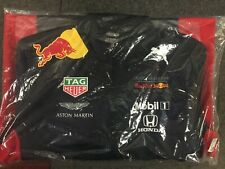 Aston Martin Red Bull Racing Men's Team F1 Softshell Jacket Large. Brand New.