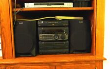 Sony MHC-G88  Hi-Fi Component Stereo System CD Player, Double Tape Deck Surround