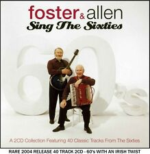 Foster & Allen Very Best Greatest 60's Hits Collection 2CD Easy Listening Irish