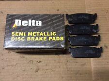 New Delta Semi Metallic Disc Brake Pad Pads Rear 762-D588