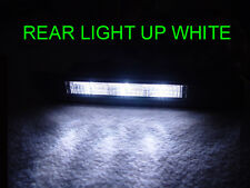 Switchback Amber/White LED Smoke 4 Pieces Side Marker Lights For 04-08 Acura TL