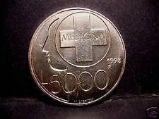San Marino 5000 Lire 1998 AG FDC (UNC) Medicina