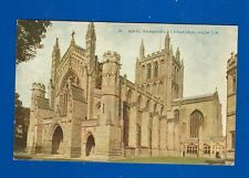 Postcard - Herefordshire - Hereford Cathedral From S.W. Celfsque Series