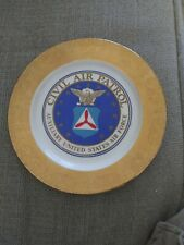 1976 Civil Air Patrol collector plate 35th Anniversary Cap only 250 made Usa Hm