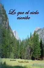 Lo Que el Cielo Escribe by Teofilo Cielo (2014, Paperback)
