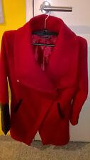♥Mantel für Damen Gr: S; Rot; Made in Italy♥