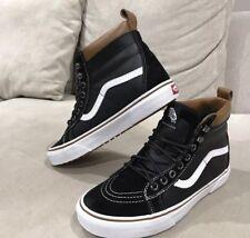 New Vans Classic Sk8 Hi Top Shoe Black Mens US 7.5 Sneakers Leather
