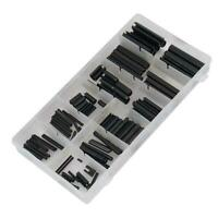 120pc Roll Pin Set Assortment Spring Pins C Tension