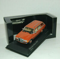 Mercedes-Benz W 123 Kombi T-Modell 200 T - Orange - 1980 - Minichamps 1:43 !