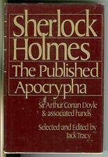 SHERLOCK HOLMES THE PUBLISHED APOCRYPHA by Doyle, rare US Holmes hardcover in DJ