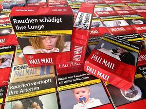 100 leere Zigarettenschachteln Pall Mall   Zigarettenschachtel  Schachtel WZ