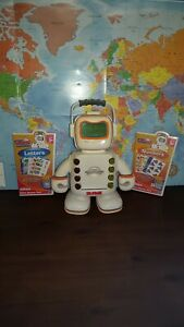 2009 Playskool Alphie Robot Electronic Talking Interactive Educational w/cards A