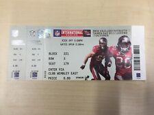NFL International Series London 2009 Buccaneers Patriots Complete Ticket Stub