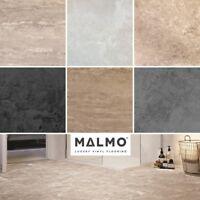 SAMPLES Malmo Rigid Waterproof Click Tiles Vinyl Flooring Built In Underlay