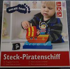 Jouet en bois Bateau de Pirates à emboîter jeu motricité Small Foot Leger Neuf