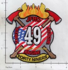 Florida - Jacksonville Station 49 FL Fire Dept Fire Patch Forty Niners