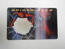 2004 Spider-Man 2 Lunchables hologram card Decoder! excellent condition! LOOK!