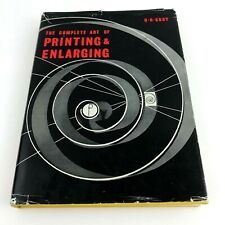 The Complete Art of Printing & Enlarging Croy 1970 12th Edition Photography