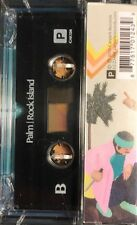 Palm ROCK ISLAND +MP3s CARPARK RECORDS New Sealed Clear Cassette Tape