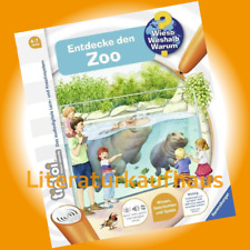 RAVENSBURGER tiptoi® Entdecke den Zoo - Inka Friese - Alle Kinder gehen gern