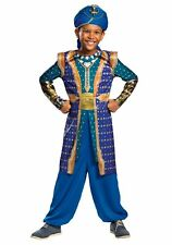 Boys Genie Disney Aladdin Costume Size Small 4-6