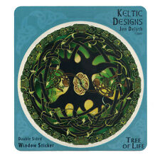 A385 - Celtic Tree of Life Art Decal / Celtic Art / Jen Delyth