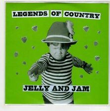 (GN780) Legends Of Country, Jelly & Jam - 2015 DJ CD