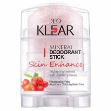 Mineral Deodorant Stick Antiperspirant Underarm Removal Goji Berry Extract 70 g