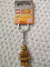 NWT LEGO C-3PO droid Star Wars Minifigure Keychain 853471