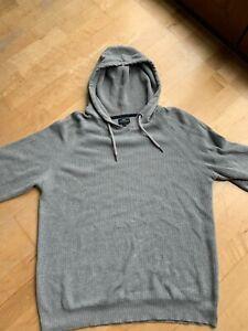 Next Mens Adults Hoodie Hooded Sweatshirt Size L - Grey