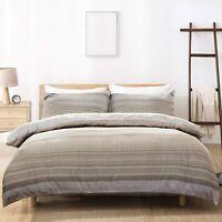 100% Super Soft Duvet Cover Set Washed Microfiber Comforter Cover Bedding Sets