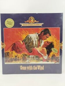 Vintage 1989 Gone With The Wind 800 Piece Jigsaw Puzzle 23-1/2 x 15-3/4 in.