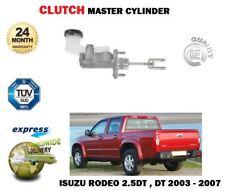 FOR ISUZU RODEO PICKUP 2.5 DT 3.0DT 4JA1 4JH1 2003-> NEW CLUTCH MASTER CYLINDER