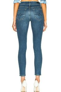 NWT ADRIANO GOLDSCHMIED Sz28 THE FARRAH HI-RISE SKINNY ANKLE JEANS CALIFORN