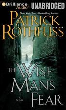 Patrick Rothfuss WISE MAN'S FEAR Unabridged MP3-CD 43 Hr *NEW* FAST 1st Cl Ship