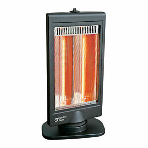Comfort Zone CZHTV9 Oscillating Electric Halogen Radiant Heater