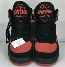 Men's Black Red Patrick Ewing Limited Edition Basketball Sneaker Ewing Athletics