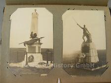 105473, Fotoalbum Postkartenalbum, Infanterie Regiment 77, Frankreich Belgien