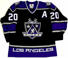 LUC ROBITAILLE LOS ANGELES KINGS 1999 AUTHENTIC STARTER JERSEY SIZE 52