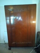 More details for antique wardrobe and dressing table