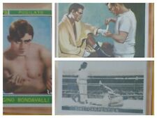 LOT of 3: Boxing Vintage Trading Cards PUGILATO ITALY PANINI SIKI - CARPENTER