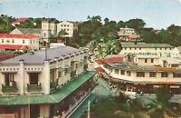 Rare Lovely Vintage Postcard - The Heart of Suva (1880) - Fiji Unposted.
